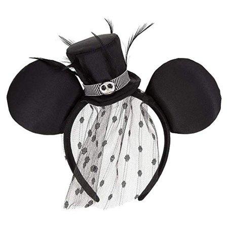 AmazonSmile: Disney Parks Jack Skellington Top Hat Minnie Ears Headband: Home & Kitchen