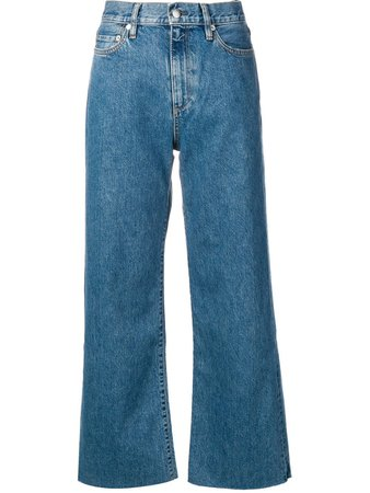 Simon Miller Wide-Leg Jeans W0061116 Blue | Farfetch
