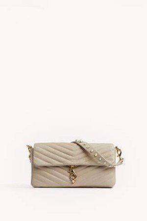 Edie Baguette With Pearl Strap