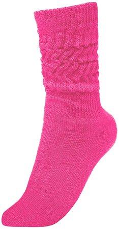 BRUBAKER Womens or Mens Fitness Workout Slouch Socks Gym Colour