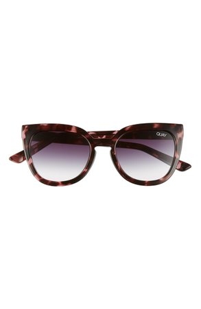Quay Australia Noosa 55mm Cat Eye Sunglasses   Nordstrom