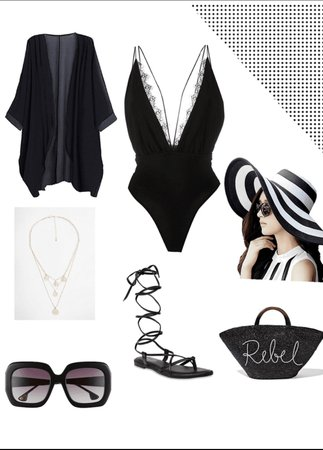 chic pool party