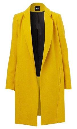 yellow blazer jacket coat