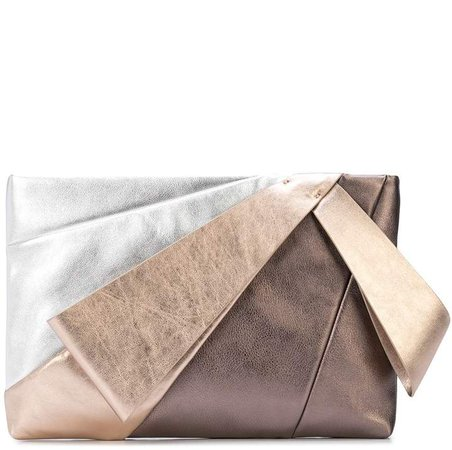 Stevie large evening clutch