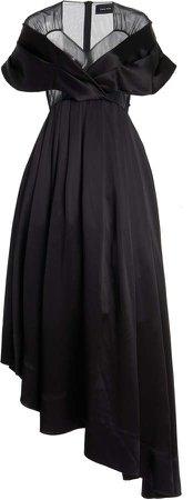 Simone Rocha Draped Silk Dress