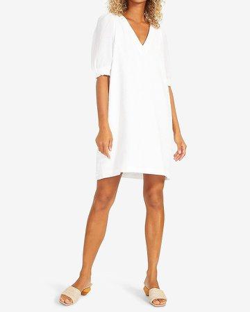 Bb Dakota V-Neck Mini Shift Dress