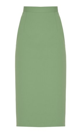Lado Bokuchava Cotton Pencil Skirt Size: L