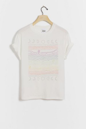 Rainbow Desert Graphic Tee | Anthropologie