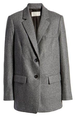 Everlane The Oversize Blazer grey
