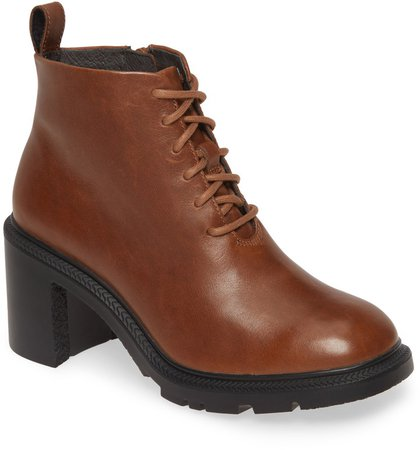 Wonder Lace-Up Bootie