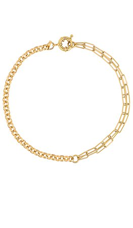 joolz by Martha Calvo Double Dutch Necklace in Gold | REVOLVE