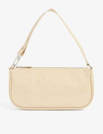 BY FAR - Rachel patent leather bag | Selfridges.com