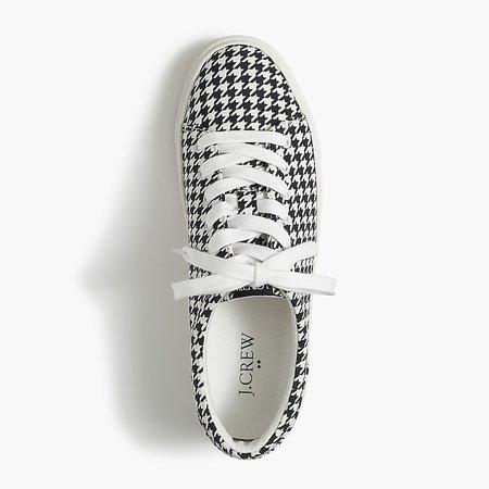 J.Crew Factory: Printed Road Trip Sneakers For Women