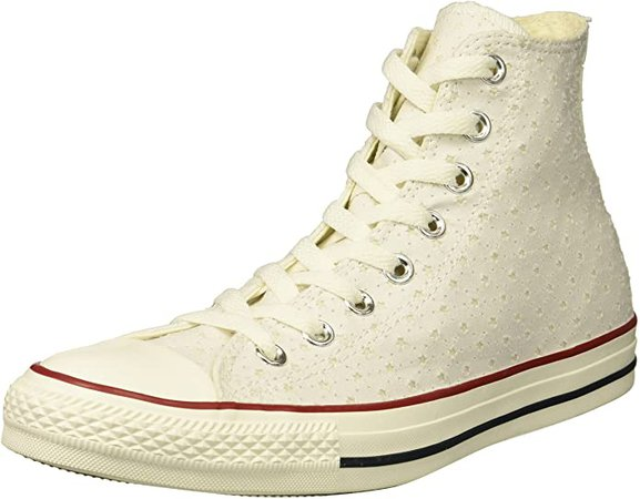 Converse Unisex Chuck Taylor Perforated Stars High Top Sneaker
