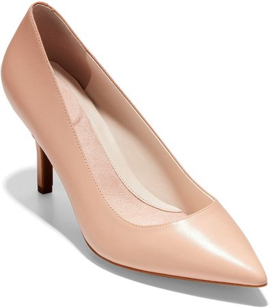 The Go-To Stiletto Leather Pump