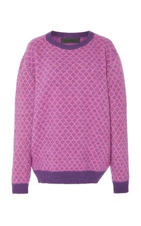 Intarsia Cashmere Sweater by The Elder Statesman | Moda Operandi