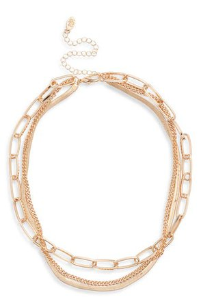 8 Other Reasons Layered Chain Necklace | Nordstrom