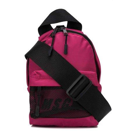 contrast-logo mini backpack