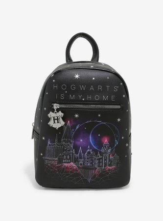 Harry Potter Hogwarts Is My Home Mini Backpack