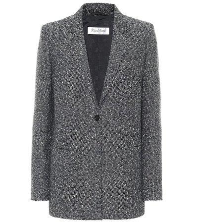 Max Mara - Giove wool-blend blazer | Mytheresa