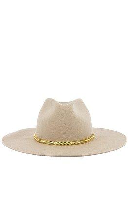 Hat Attack Glam Hat in Beige & Chain | REVOLVE