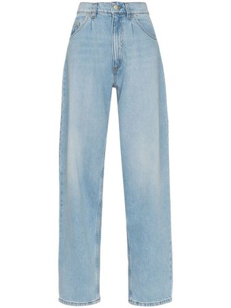 Magda Butrym Grangeville wide-leg jeans - Blue