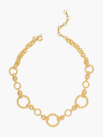 Gold Links Necklace | Talbots