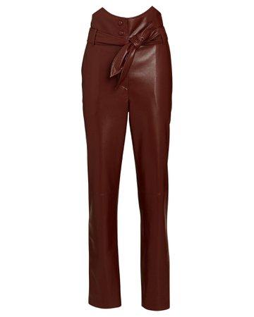 Nanushka Ethan Vegan Leather Pants   INTERMIX®