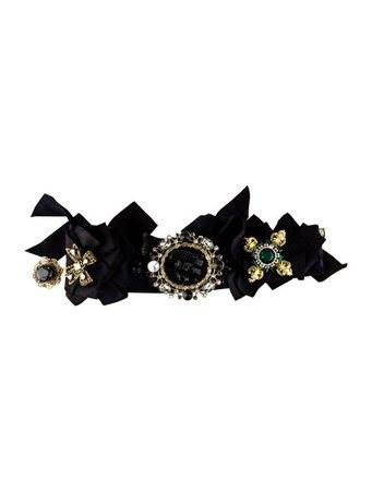 Dolce & Gabbana Vintage Embellished Belt - Accessories - DAG119681   The RealReal