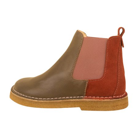 Chelsea Boot, Olive - Kids Girl Accessories Shoes - Maisonette