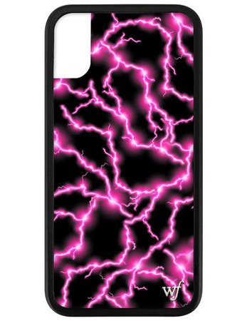 Electric Pink iPhone X/Xs Case – Wildflower Cases