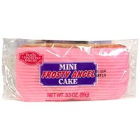 Dolly Madison Bakery Mini Frosty Angel Cake Allergy and Ingredient Information