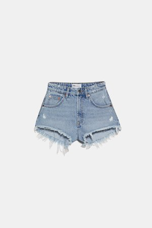 HI-RISE HOT PANT SHORTS | ZARA United States