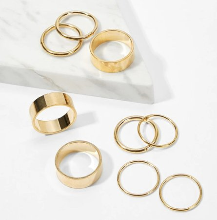 Gold Rings - Shein
