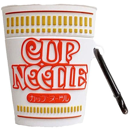 Ramen Noodles Cup Airpods Case