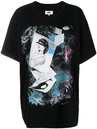 printed boxy-fit T-shirt