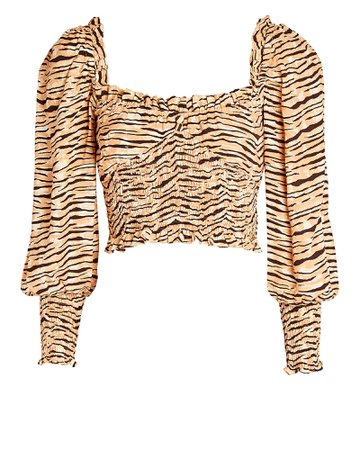 FAITHFULL THE BRAND Willow Crepe Blouse | INTERMIX®