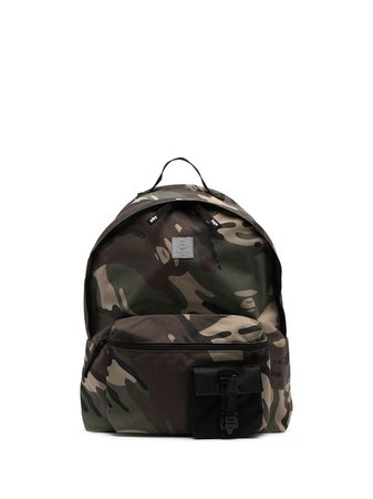 AAPE BY *A BATHING APE® camouflage-print zipped backpack - FARFETCH