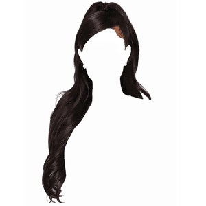 long black hair png half up favorite