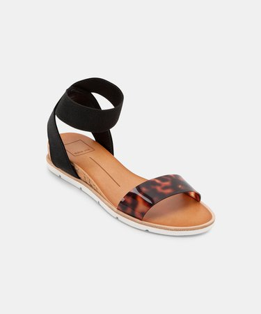 VIVIAN SANDALS IN BLACK MULTI – Dolce Vita