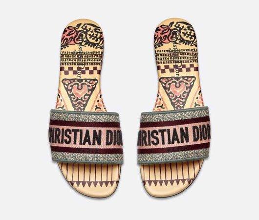 Christian Dior sandal flat