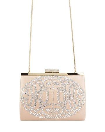 Badgley Mischka Alice Evening Handbag, Latte
