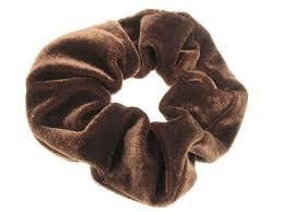 brown scrunchie - Google Search
