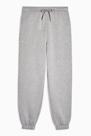 Grey Marl 90's Oversized Sweatpants | Topshop