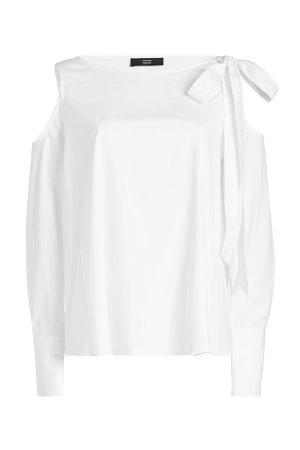 Cold Shoulder Blouse Gr. DE 46