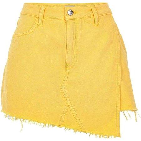 yellow denim skirt - Pesquisa Google