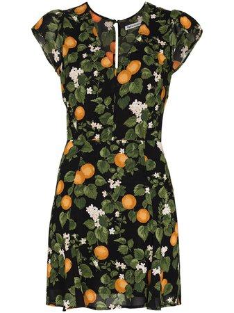 Reformation Deven short-sleeve Mini Dress - Farfetch