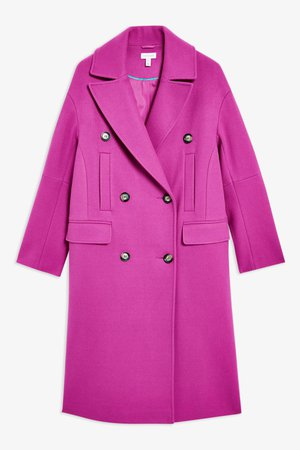 topshop-Bright-Pink-Relaxed-Coat