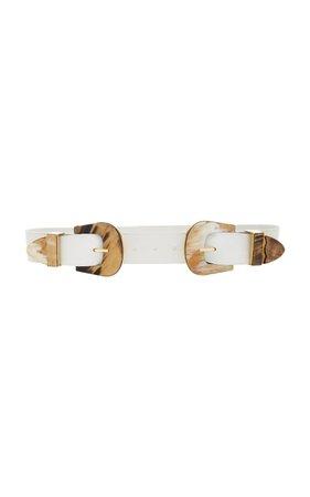 Johanna Ortiz Leather Belt Size: 4