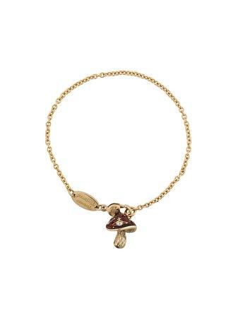 Vivienne Westwood Mushroom Chain Bracelet | Farfetch.com
